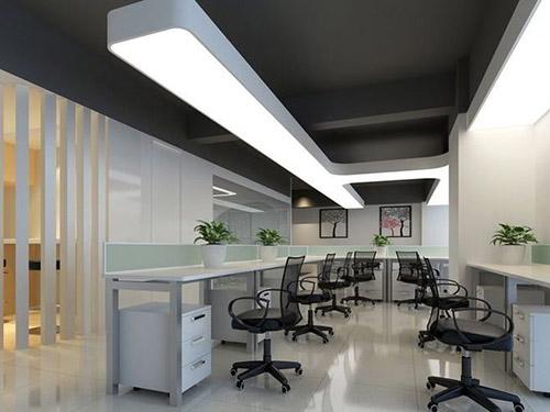 怎样能从视觉来改善复式办公室装修效果?